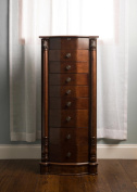 Henry IV Walnut Jewellery Armoire