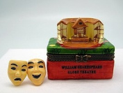 William Shakespeare London Globe Theatre Jewellery Box