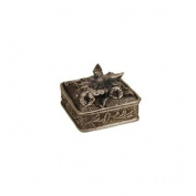 Hummingbird Square Jewellery Box