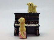 Jewellery Boxes Dog Playing Piano