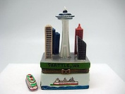 Seattle Souvenirs Treasure Boxes Seattle Downtown Scene