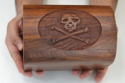 Pirate Treasure Chest Jewellery Wood BOX