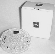Mikasa Liberty Covered Box 7.6cm - 1.3cm Lead Crystal