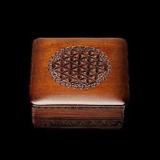 Shakti Elegant Dark Finish Wood Design Handmade Polish Box Classic Design