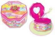 Octagon Musical Jewellery Box - Fairy