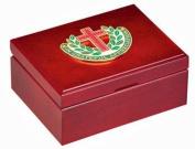 In Grateful Appreciation Cherry Wood Keeksake Jewellery Box