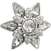 Authentic Chamilia Snowflake Lock Charm Bead 1483-0014