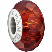 Authentic Chamilia Jewelled Collection - Red Charm Bead 2410-0010