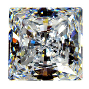 """Cubic Zirconia Loose Square Shape / Round cutting 2.00 X 2.00 MM/ 0.05 Ct Diamond Weight Super & Super Quality Clear White Colour. Not """" AAA """" or """" AAAAA """" Cubiczirconia Quality."""