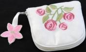 Jewellery Purse in a Rennie Mack Pink Rose Design