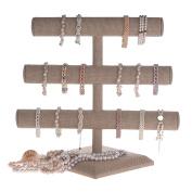 Triple Tier Jewellery Bracelet Organiser Display Stand