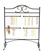 Mango Steam Jewellery Organiser for Hanging Bracelets, Black