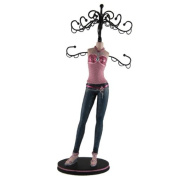 Teen's Denim Collection Jewlery Stand Pink Top Sexy 38cm