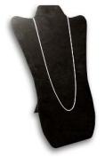 Necklace Pad 36cm H Black Velvet Necklace Jewellery Display