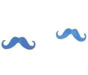 HotEnergy Candy Colours Earring Fluorescent Colour Cute Moustache Ear Stud Earring