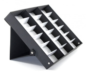 ProSource 18 Piece Sunglass Eyewear Eye Wear Display Tray Case Stand. Also great for Watches and Jewellery