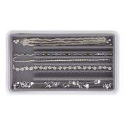 Neatnix Jewellery Stax Necklace Organiser, Pearl Grey