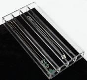 Rev-A-Shelf 28cm - 1.6cm x 15cm Necklace Clear Acrylic