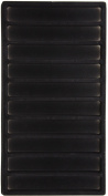SE - Liner Tray - Black, Flocked, 1.5x 7in x 1.3cm . - J1710FL