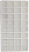 SE - Liner Tray - Grey, 32 Section, 1.75x 1.190cm x 1.3cm . - J2032FL