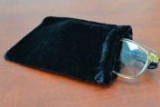 Black Velvet Drawstring Jewellery Gift Pouches Bags