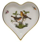 Herend Rothschild Bird Heart Tray