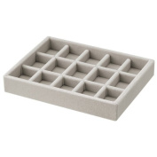 Velour Inner Accessories Tray - Grid