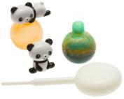 Kotobuki Panda Sauce Bottle Set for Bento Box, Mini