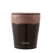 Stainless steel food jar washable by decomposing the ZOJIRUSHI lid [260ml] Cafe Brown SW-GA26-TR