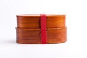 Japanese Bento Box - Two-stage Lunch Box Made From Cedar Wood