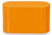 Masakazu . lunch box unit BENTO mini orange two-stage with chopsticks