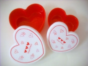 Sweet Heart 2pc Lunch Case Small & Large Set