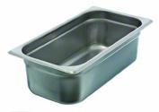 Update International SPH-334 Stainless Steel One Third Anti-Jam Steam Table Pan, 10cm