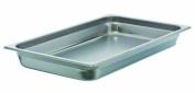 Update International SPH-1002 Stainless Steel Anti-Jam Steam Table Pan, Full, 6.4cm