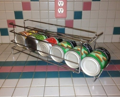 I10direct Fifo Food Storage Can Organiser Rack Rotate