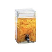 Cal-Mil 1733-2 7.6l Glass Square Infusion Dispenser