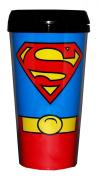Superman Costume Plastic Travel Mug