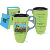 Advice from a Wildflower Travel Latte Mug