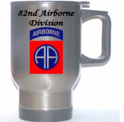 82ND AIRBORNE DIVISION - US Army Stainless Steel Mug
