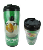 Green Angry Birds Thermos Cup - Angry Birds Travel Coffee Cup