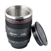 New EF 24-105mm Camera Lens Travel Coffee Mug / Cup / Thermos with Stainless Steel Interior