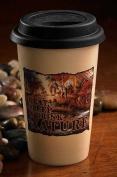 "Wild Wiings Terry Redlin ""I Eat, Sleep & Drink Nature"" Travel Mug 350ml"