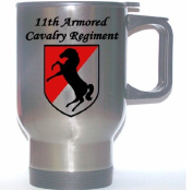 11TH armoured CAVALRY REGIMENT - US Army Stainless Steel Mug