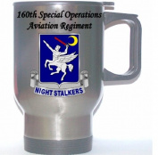 160TH SPECIAL OPERATIONS AVIATION REGIMENT (NIGHT STALKERS) - US Army Stainless Steel Mug