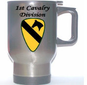 1ST CAVALRY DIVISION - US Army Stainless Steel Mug