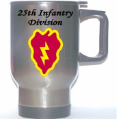 25TH INFANTRY DIVISION - US Army Stainless Steel Mug