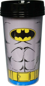 Batman Uniform Plastic Travel Mug