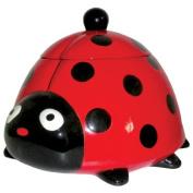 Westland Giftware Ceramic Cookie Jar, 20cm , Kookie Ladybug