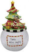 Appletree Design 62671 Cookie Jar with Seasonal Design, Ceramic/Glass, 6 by 27cm by 15cm