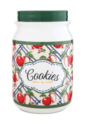 Pavilion Gift Company 49037 You and Me by Jessie Steele Ceramic Cookie Jar, 23cm , Apple of My Eye